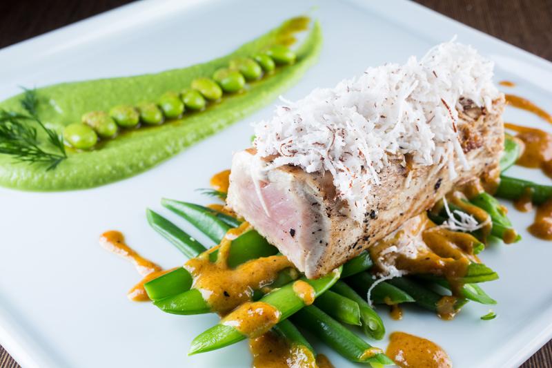 atum em crosta de coco fresco com mundoverde
